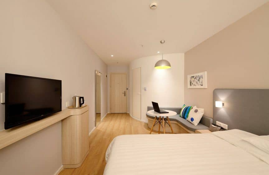 Clean hotel room