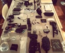 Jon Beardmore equipment