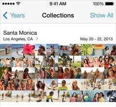 Collections, Photo Roll