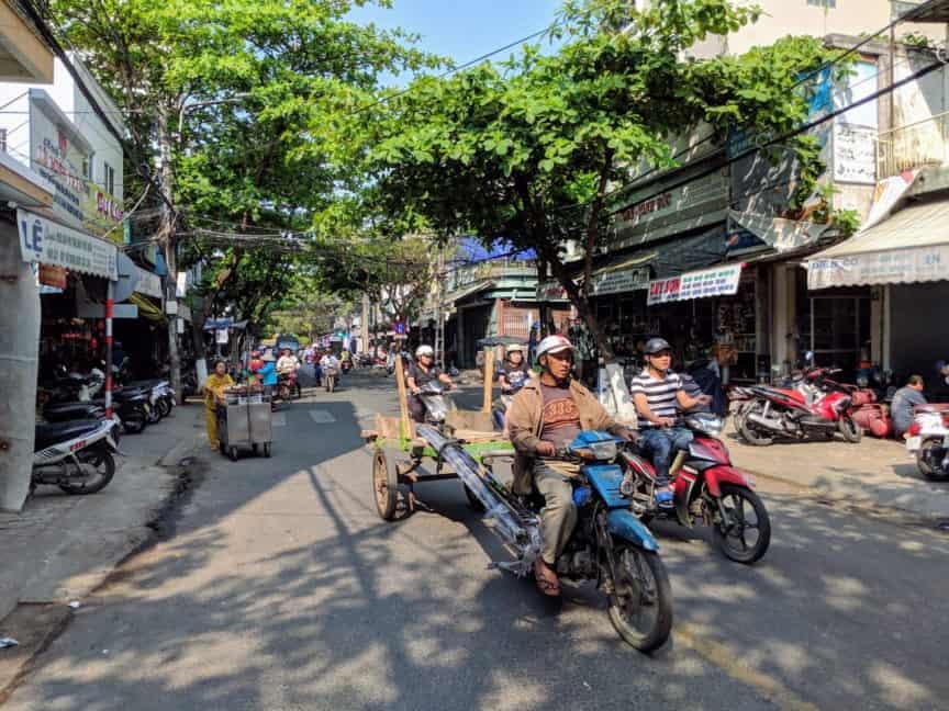 Danang street scene