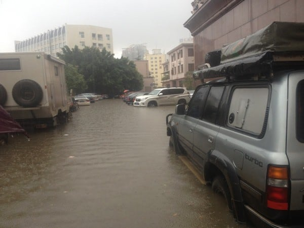 Floods in Kunming, China - July 2013