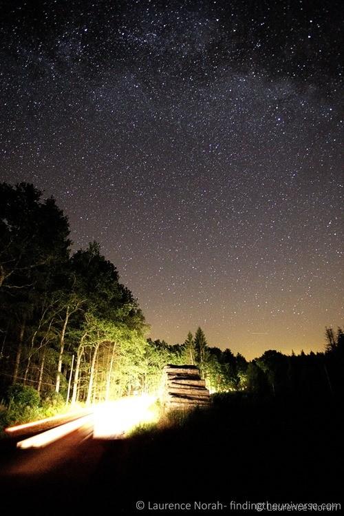 Stars at night scaled