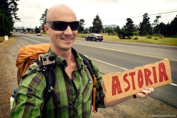 Hitchhiking with a GoPro