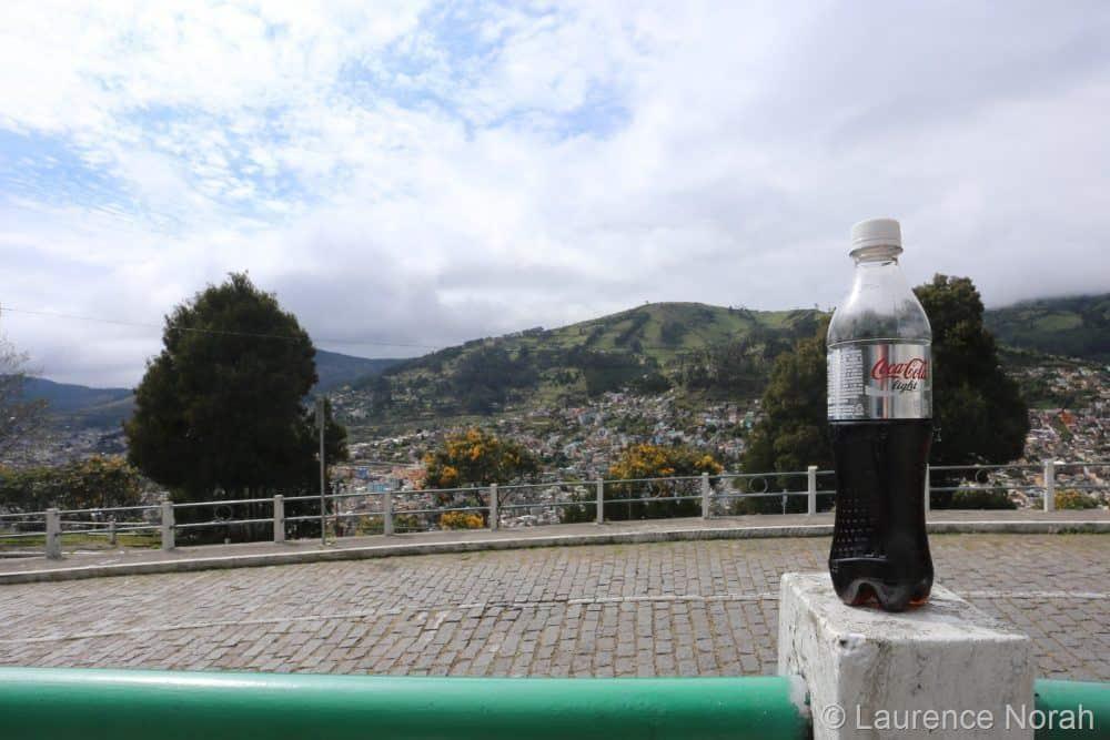 Coke bottle shot at 17mm