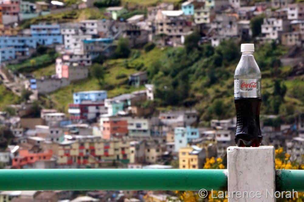 Coke bottle shot at 315mm