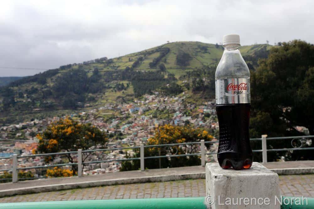 Coke bottle shot at 40mm