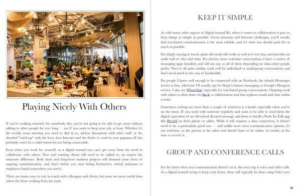 Screenshot - Collaboration chapter