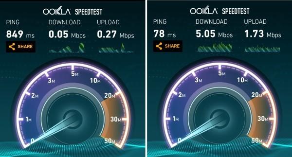 Kathmandu wi-fi vs 3G