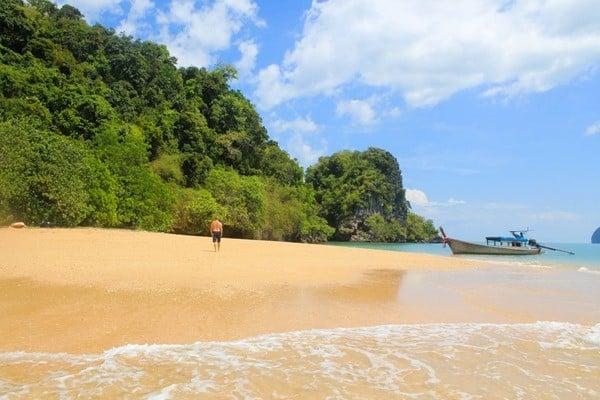 Walking away in Thailand