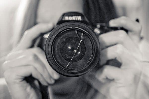 Nikon broken filter