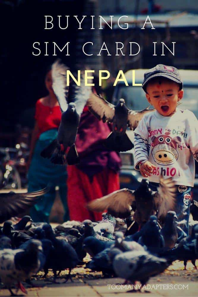 How to buy a SIM card in Nepal