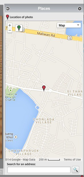 Picasa map