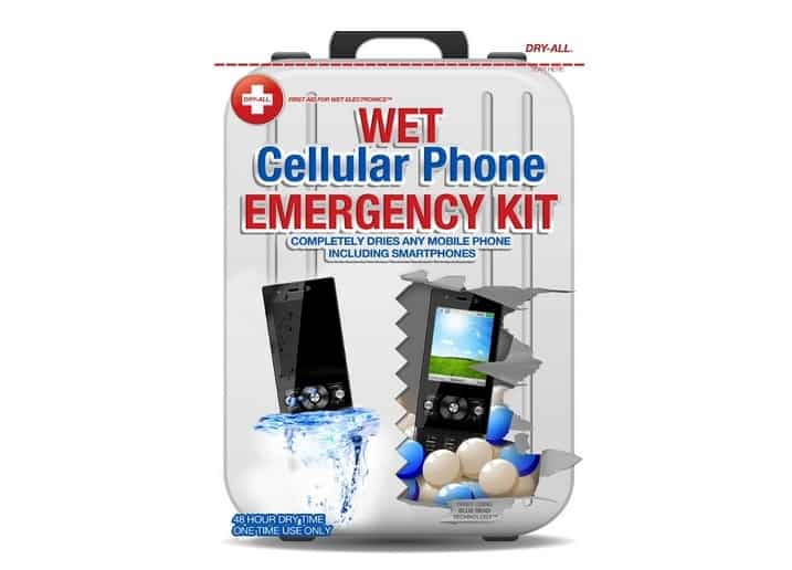 Dry-All Wet Cellular Phone Emergency Kit