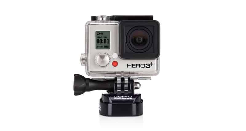 Tripod mount for GoPro