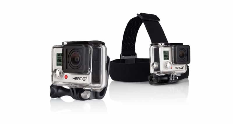 Head mount for GoPro