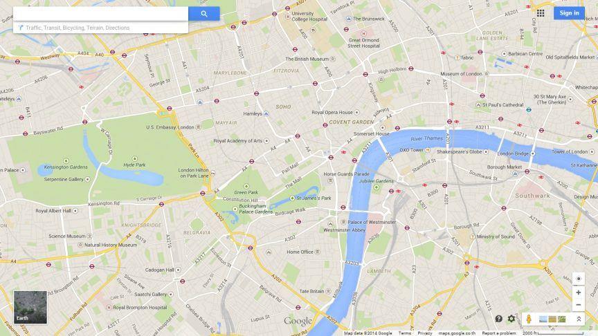 London - Google Maps