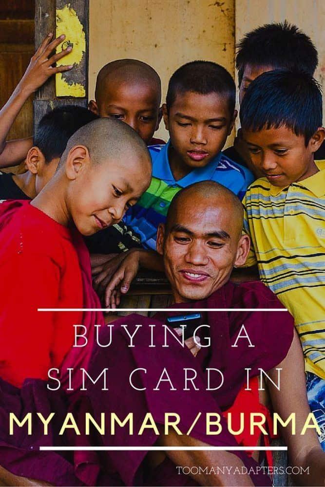 Buying a SIM card in Myanmar/Burma