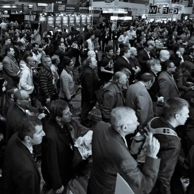 CES crowds