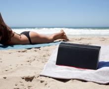 NYNE TT on the beach