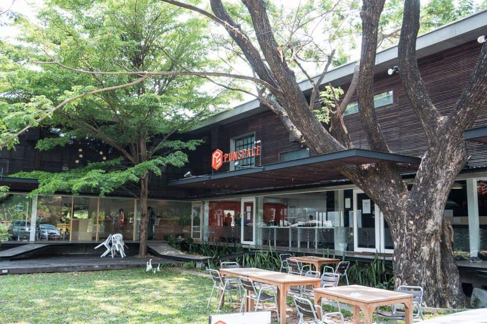Punspace Nimman, the original co-working space in Chiang Mai