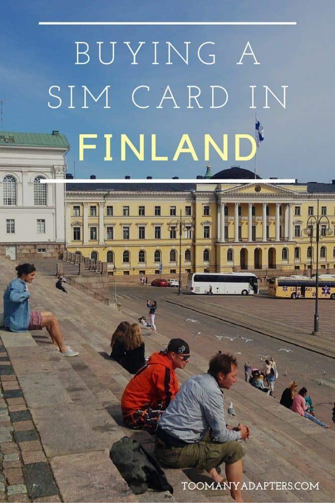 Buying a SIM card in Finland