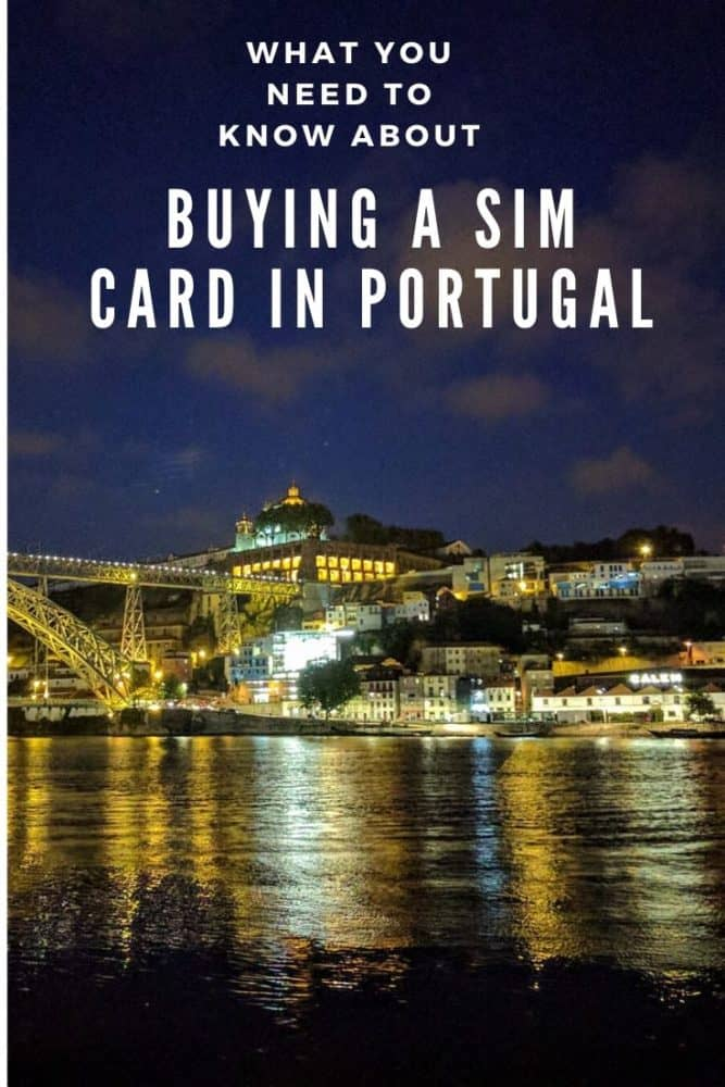 Buying a SIM card in Portugal