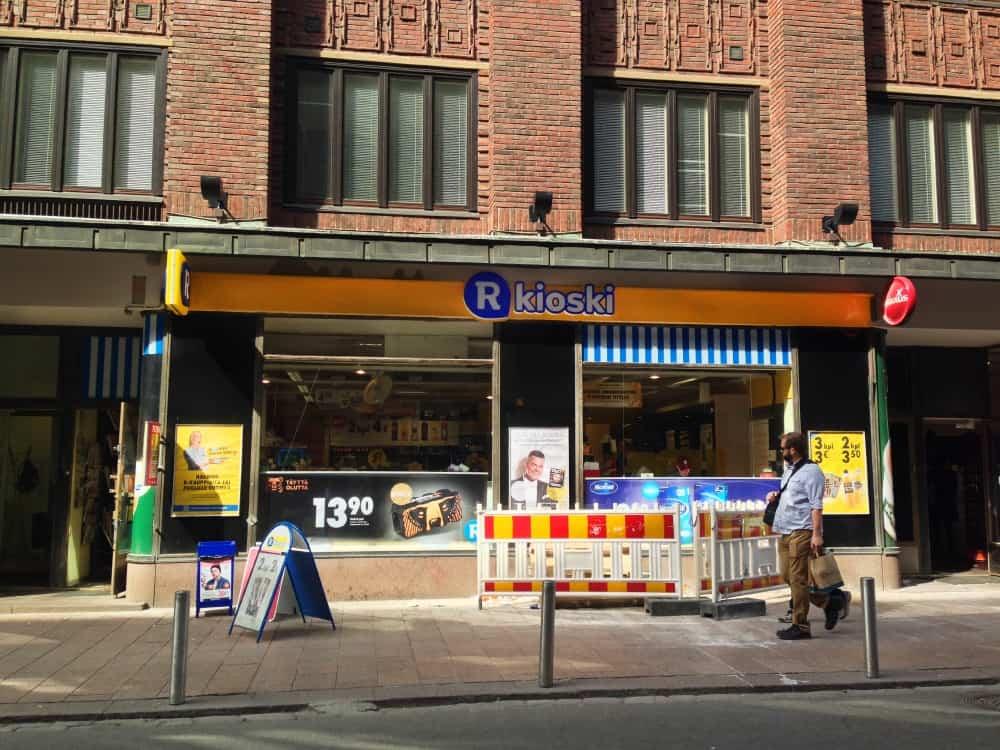 R Kiosk in Helsinki