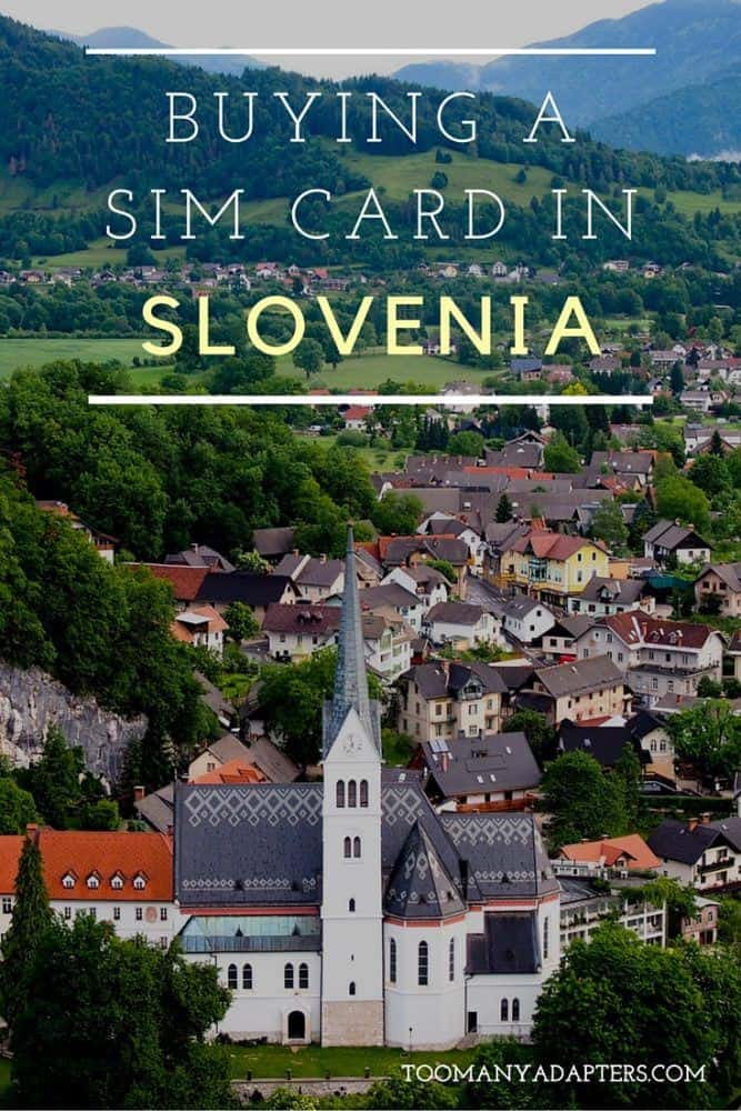 Buying a SIM card in Slovenia