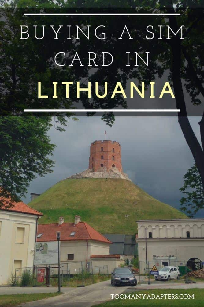 Buying a SIM Card in Lithuania