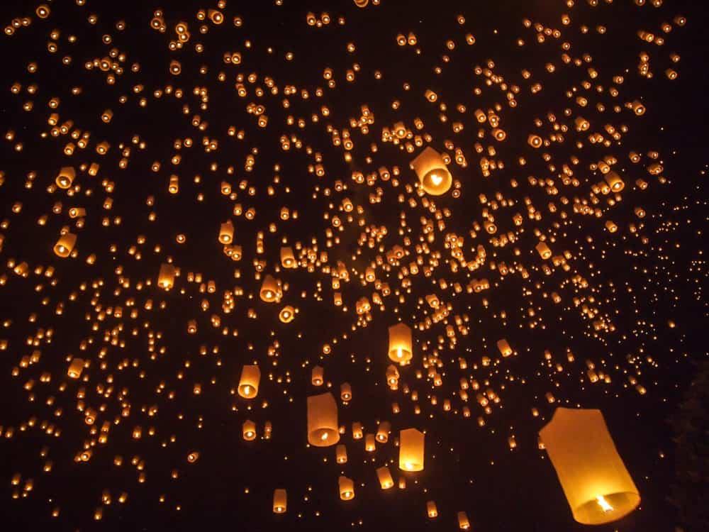 Lanterns, Chiang Mai