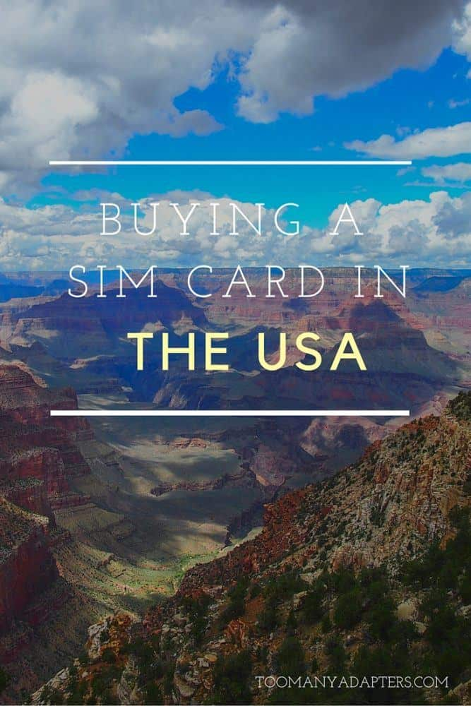 What you need o know about buying a SIM card in the USA