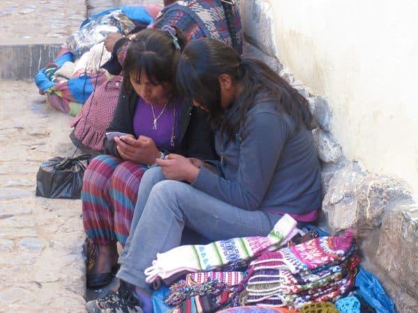 Girls in Cusco, Peru