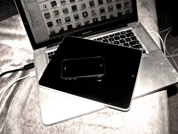 iPad, iPhone and Mac