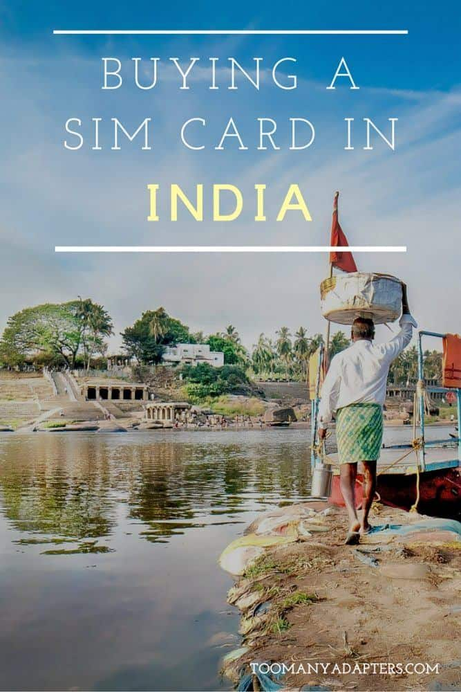 Buying a SIM card in India