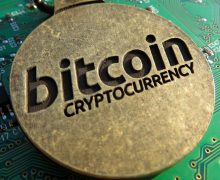 Bitcoin on circuit board