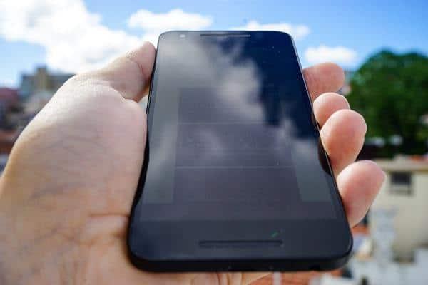Nexus 5x outside