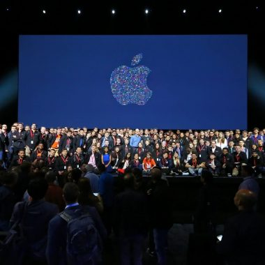 Apple WWDC stage 2016