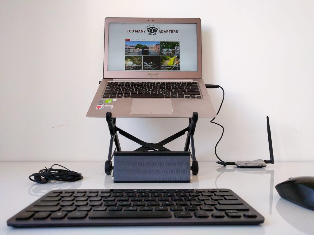 Digital nomad setup