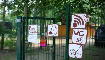 Free Wi-fi in German park