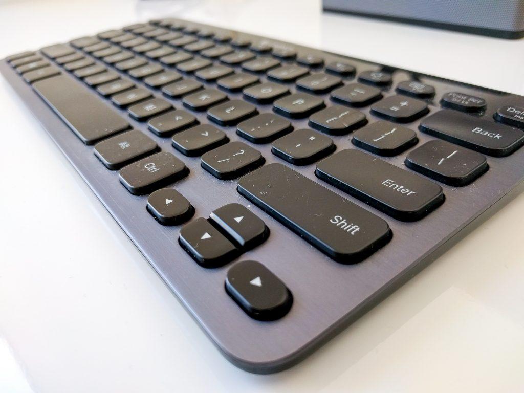 Logitech K810 Bluetooth keyboard