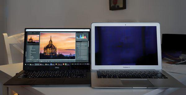 dell xps vs macbook air 13