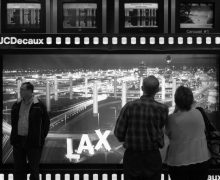 LAX airport scene