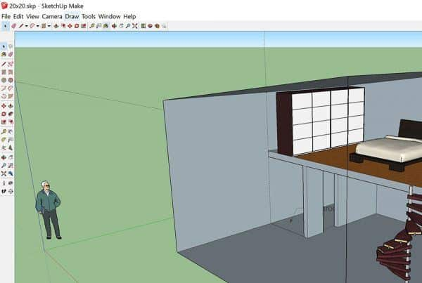 Tiny Icons in Sketchup 2015