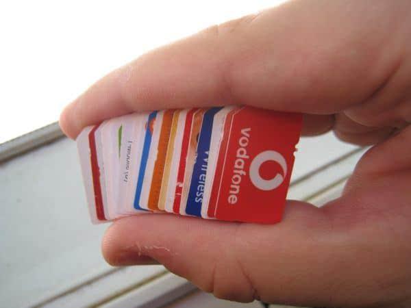 International SIM cards bundle