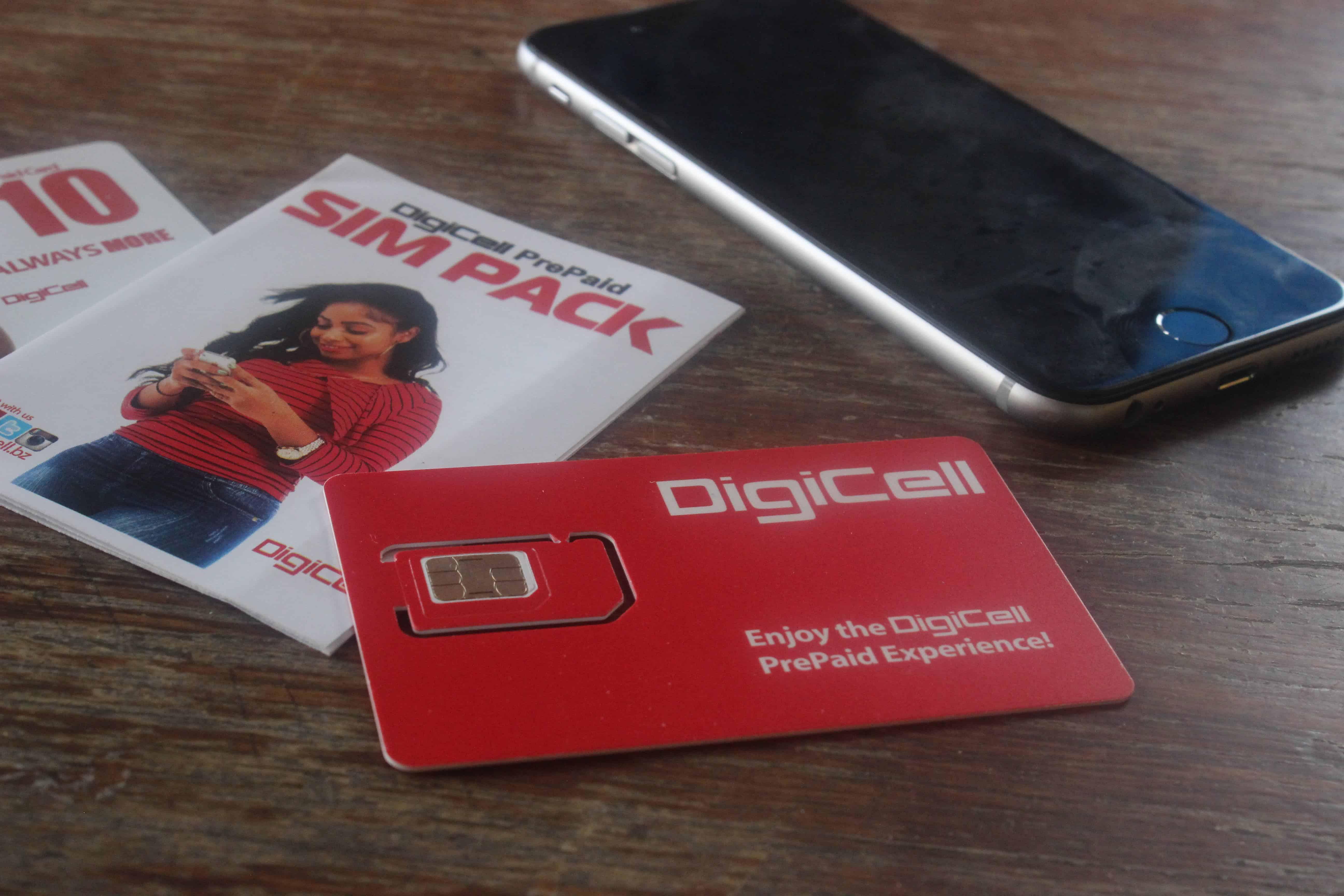 DigiCell SIM Card Belize