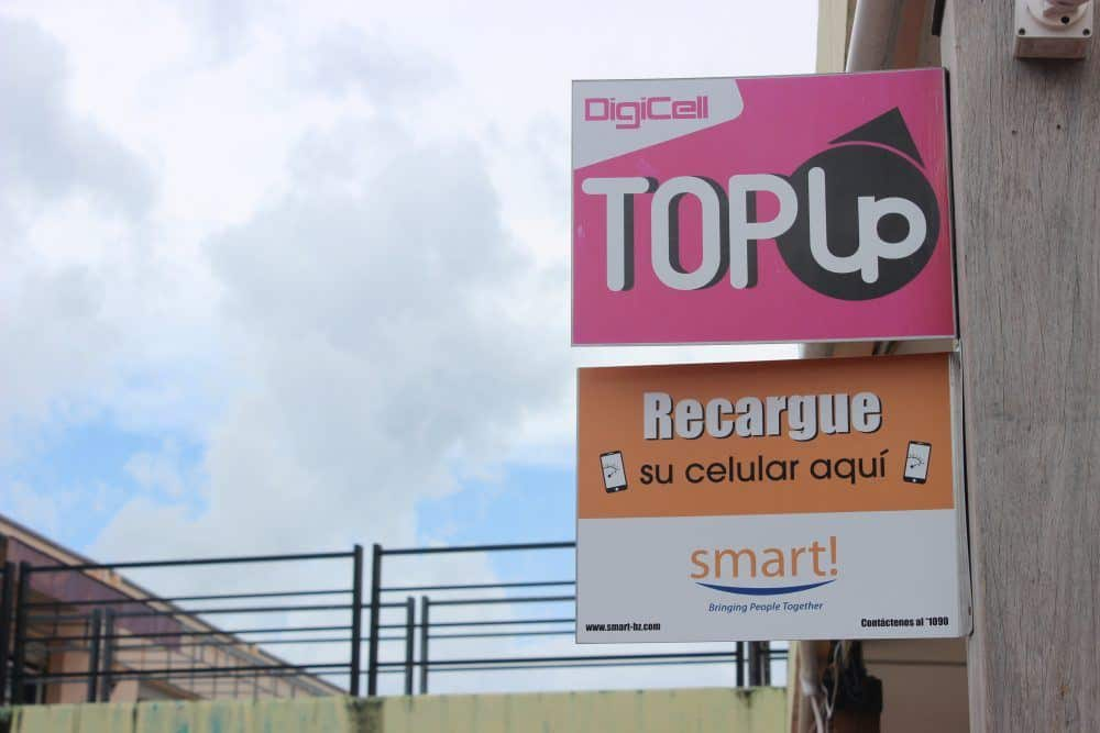Top Up SIM Card Belize