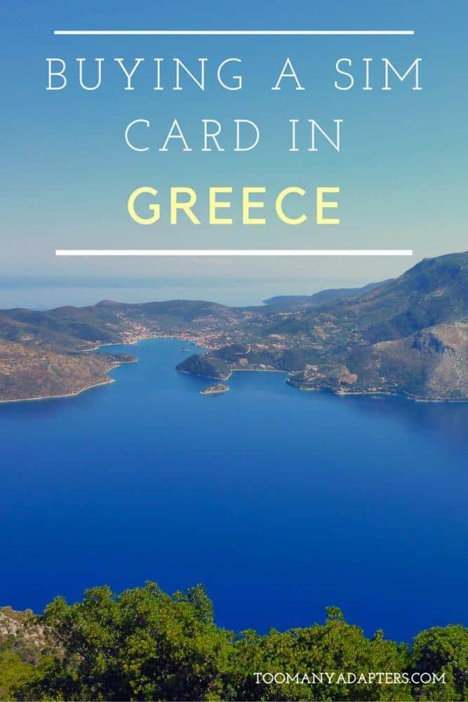Buying a SIM Card in Greece