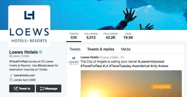 Loews Twitter
