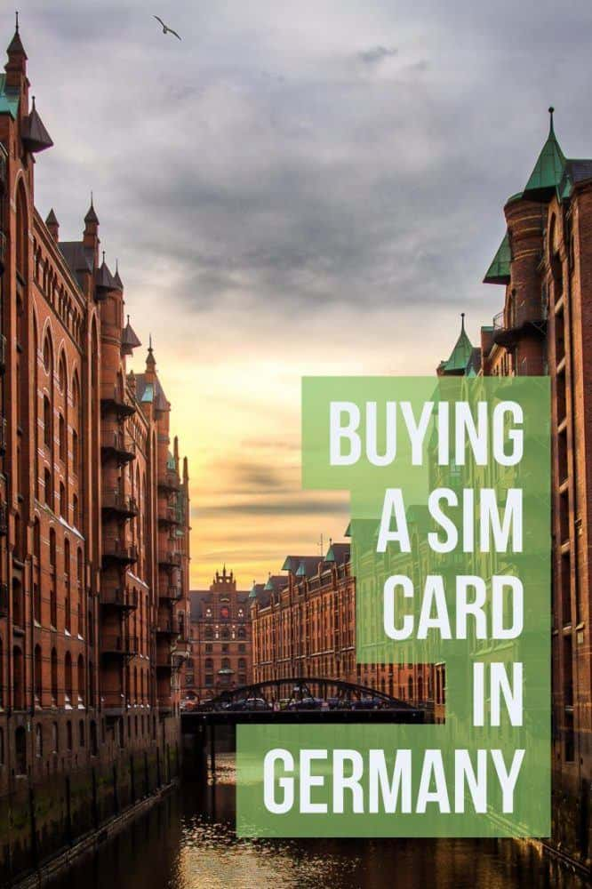 Buying a SIM Card in Germany