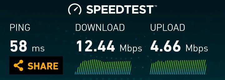German Vodafone speeds in Timmendorfer Strand
